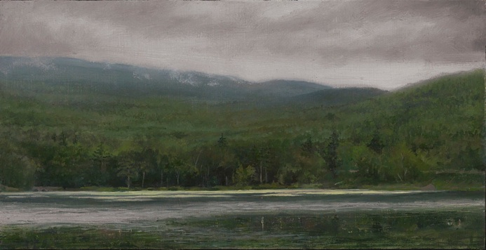 This Ken Salaz painting handles the distant rows of trees expertly. I ...