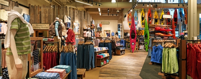 L.L. Bean Store Design In-Store Experience Callison