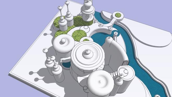 cyan map B1 - components 1B