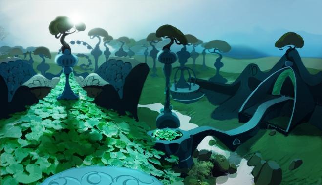 Joshua Eckert - Eagre Games Concept Art
