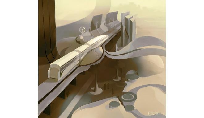 Joshua Eckert - Monorail Future